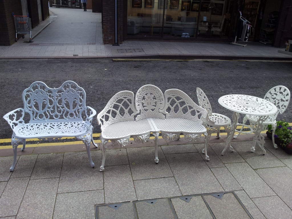 CAST IRON GARDEN FURNITURE Armagh Trailers