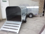 LIFT OF CANOPY LIVESTOCK TRAILER