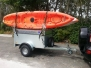 LOCKABLE LID CAMPING STYLE TRAILER