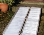 2ft - 7ft SUITCASE WHEELCHAIR RAMPS (8)