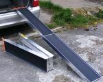 6ft & 7ft 500kg FOLDING ALUMINIUM RAMPS (3)