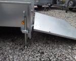8X5 TRAILER WITH 44'' REAR RAMP DOOR (6)