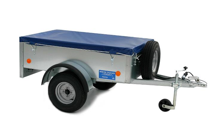 New small utility general purpose trailers come standard with 500kg