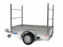 TRAILER SUITABLE FOR MOVING CANOES